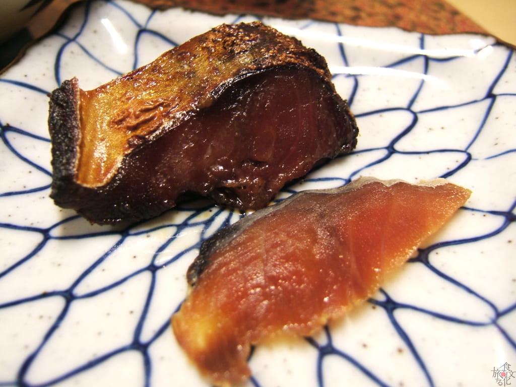 へしこは焼いても刺身でも美味い