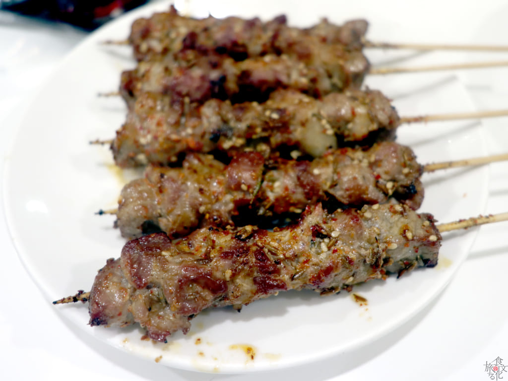 東北風羊肉の串焼き