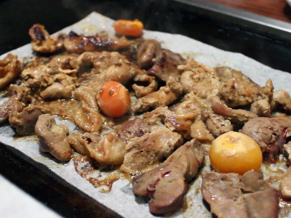 長野・遠山鄕の「鶏ジン」 鶏肉のジンギスカン
