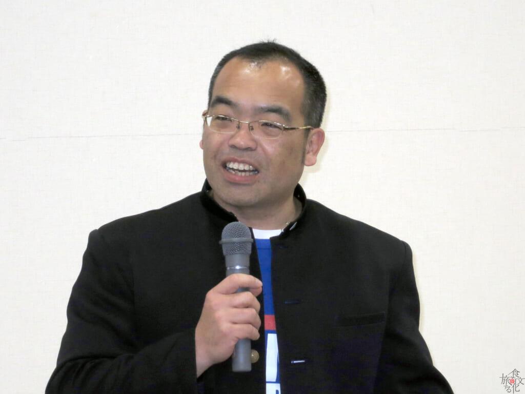 ご当地ちゃんぽんの伝道師・林田真明さん 学ランがトレードマーク