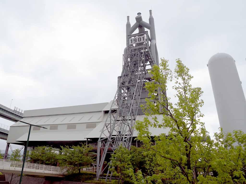世界遺産に登録されている旧八幡製鉄所東田第一高炉