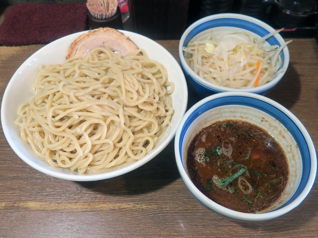 「麺屋あらき竃の番人外伝」の船橋ソースつけ麺
