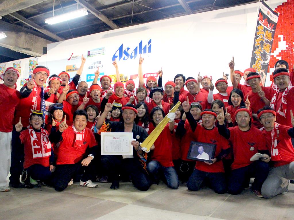 熱血!!勝浦タンタンメン船団がB-1グランプリでゴールドグランプリを受賞