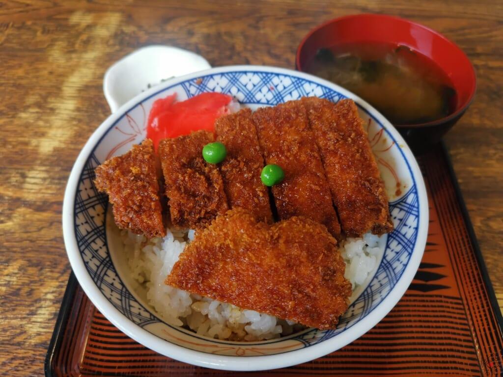 カレー風味カツ丼