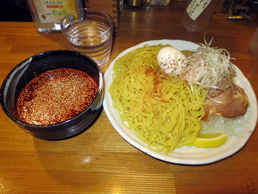 池袋の「とんがらし」で食べた広島流つけ麺