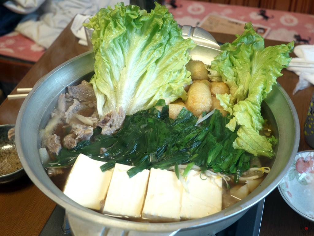 「三枝」のそずり鍋