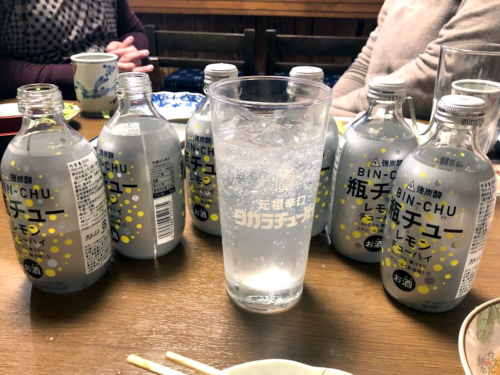 津山の肉料理には「瓶チュー」がベストマッチ