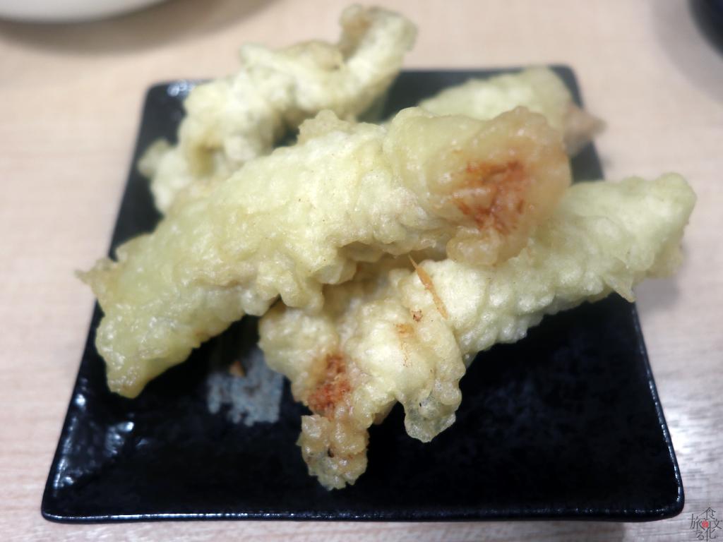 広島名物ホルモンの天ぷら