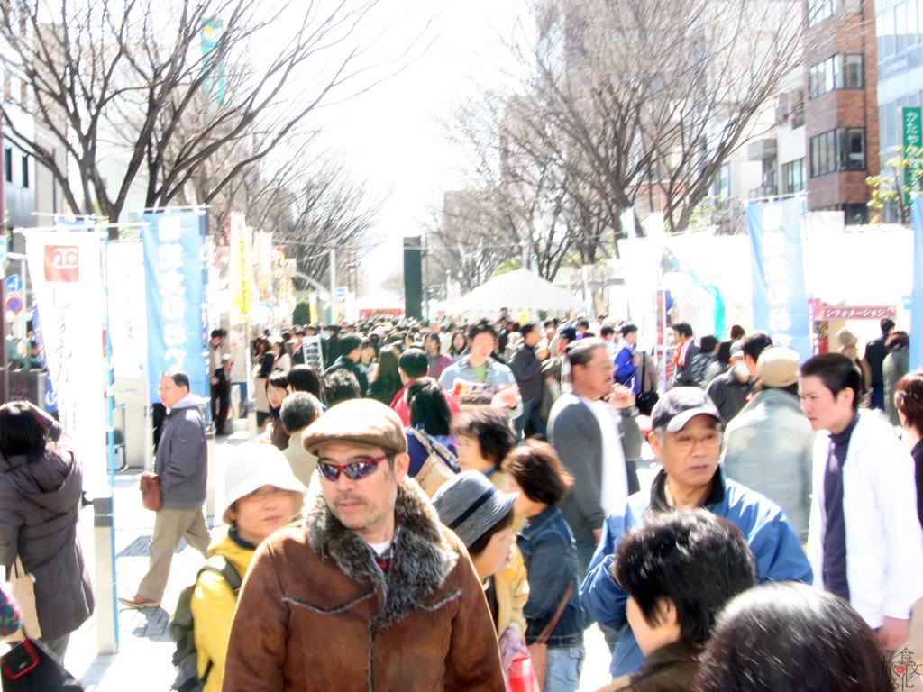 静岡おでん祭の賑わい