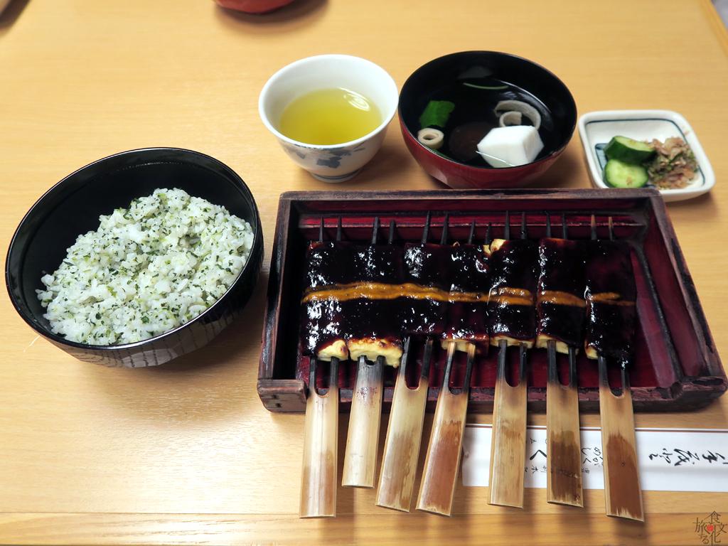 豆腐田楽に菜飯がみそおでんのルーツ