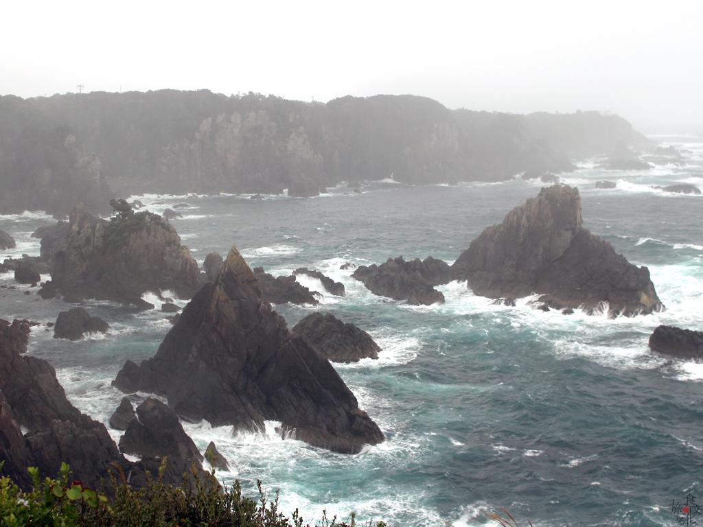 串本は「トルコ友好の町」 この荒海で難破したトルコ軍艦を救助した