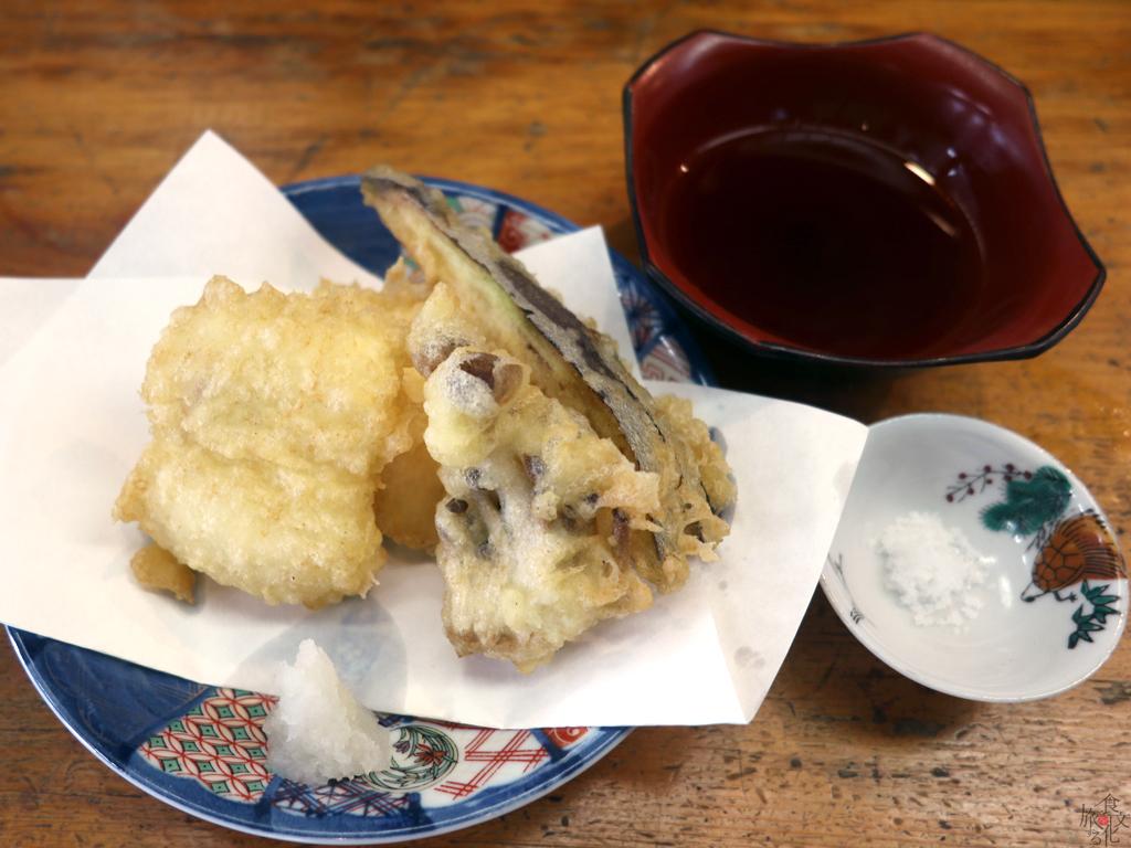 活穴子の天ぷら ハーフ