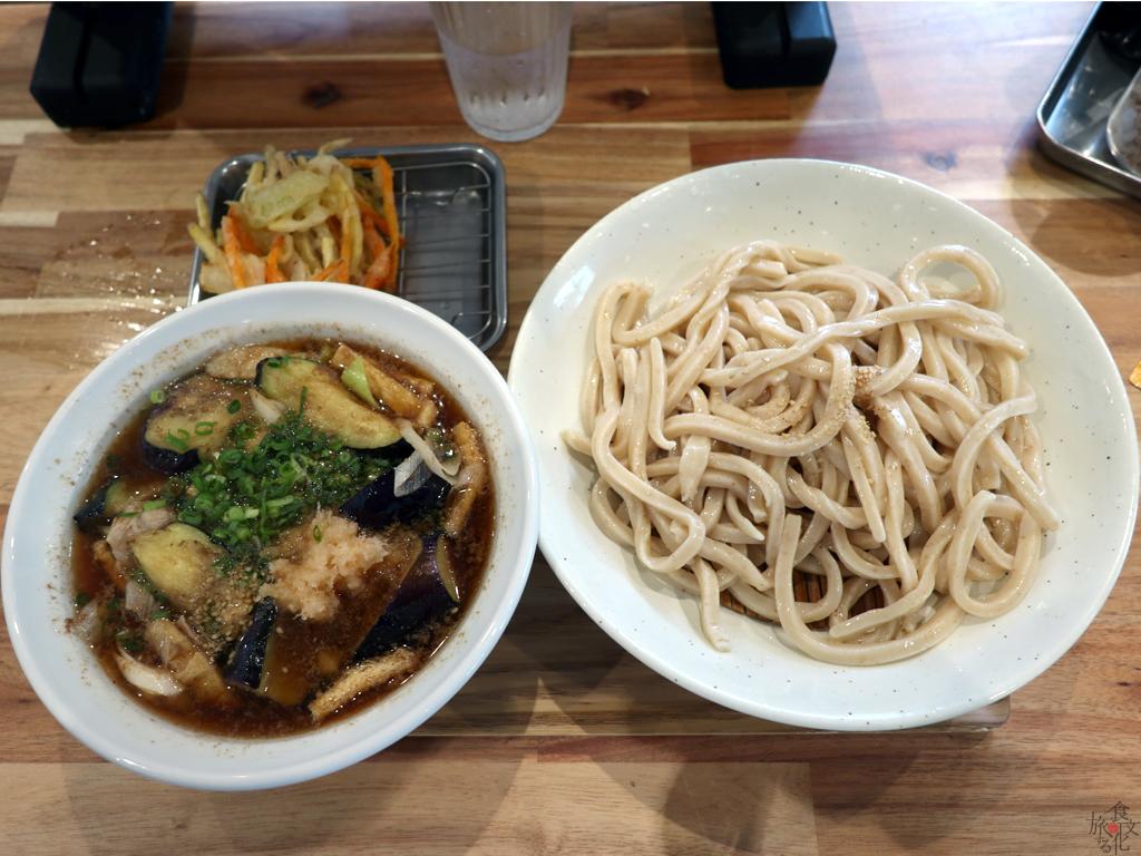 「武蔵野うどん澤村」の肉茄子汁うどん