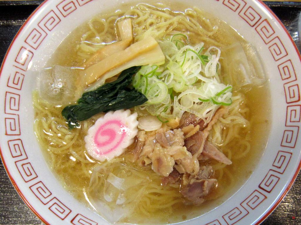 神田錦町にある「河北や」の冷たい肉中華
