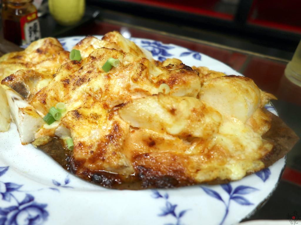 長芋の明太子チーズ焼き